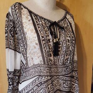 Tops - HALEBOB silk blouse